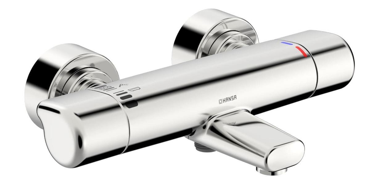 Vaňová batéria Hansa Care bez sprchového setu 150 mm chróm 08717100
