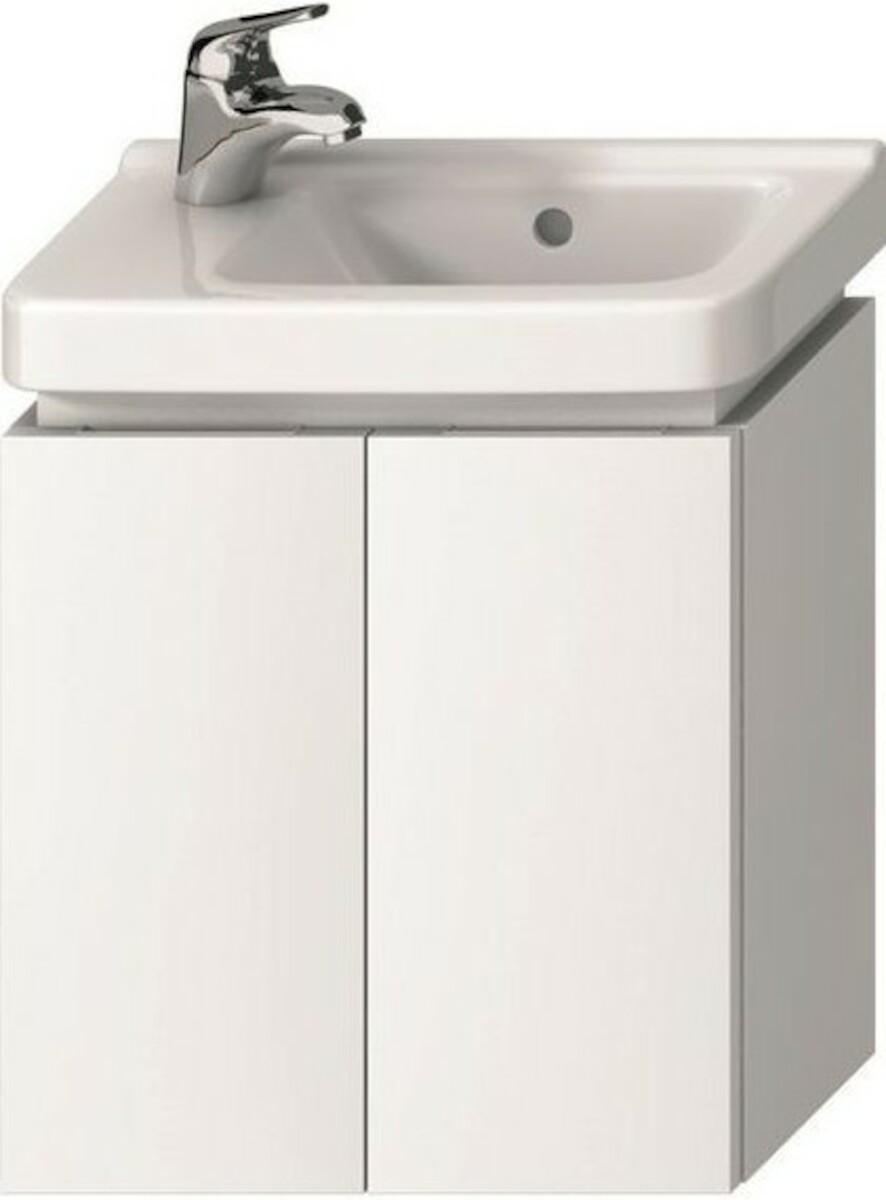 Kúpeľňová skrinka pod umývadlo Jika Cubito 45x24,1x48 cm biela H40J4202005001
