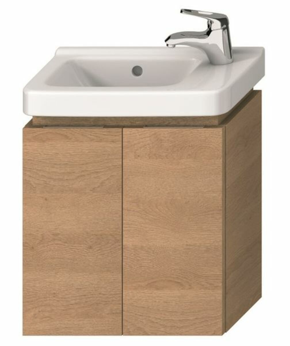 Kúpeľňová skrinka pod umývadlo Jika Cubito 45x24,1x48 cm dub H40J4202005191