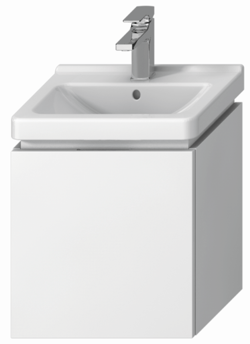 Kúpeľňová skrinka pod umývadlo Jika Cubito 45x33,4x48 cm biela H40J4213015001