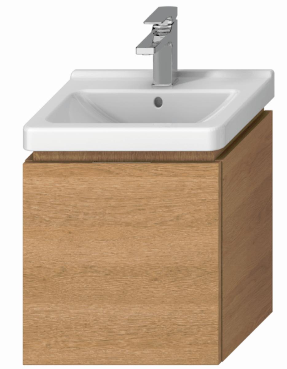 Kúpeľňová skrinka pod umývadlo Jika Cubito 45x34x48 cm dub H40J4213015191