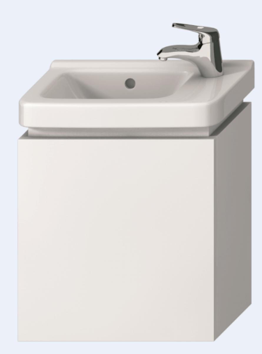 Kúpeľňová skrinka pod umývadlo Jika Cubito 55x32,2x48 cm biela H40J4223015001