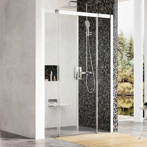 Sprchové dvere štvorec 140 cm Ravak Matrix 0WKM0100Z1