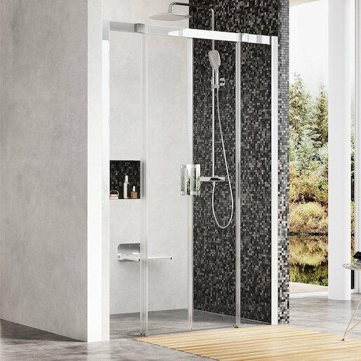 Sprchové dvere štvorec 140 cm Ravak Matrix 0WKM0C00Z1