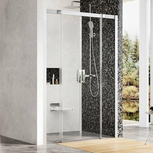 Sprchové dvere štvorec 140 cm Ravak Matrix 0WKM0U00Z1