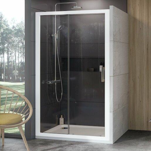 Sprchový kút 100x190 cm Ravak 10° biela 0ZVA0100Z1