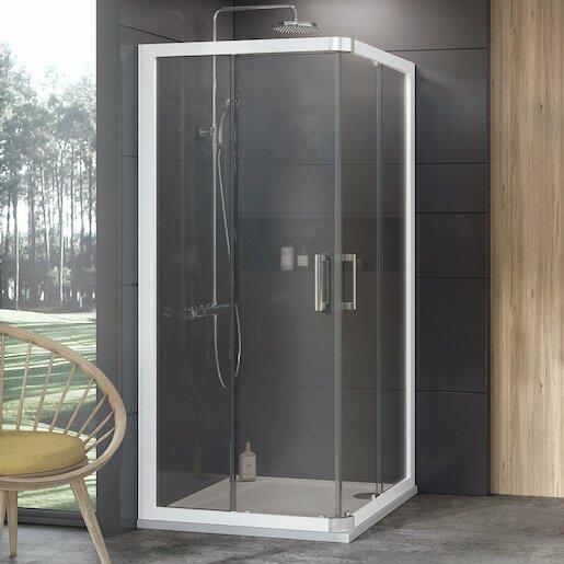 Sprchový kút 80x190 cm Ravak 10° biela 1ZI40100Z1