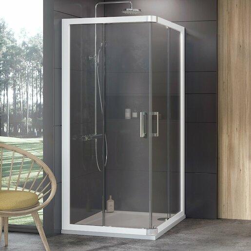 Sprchový kút 90x190 cm Ravak 10° biela 1ZI70100Z1