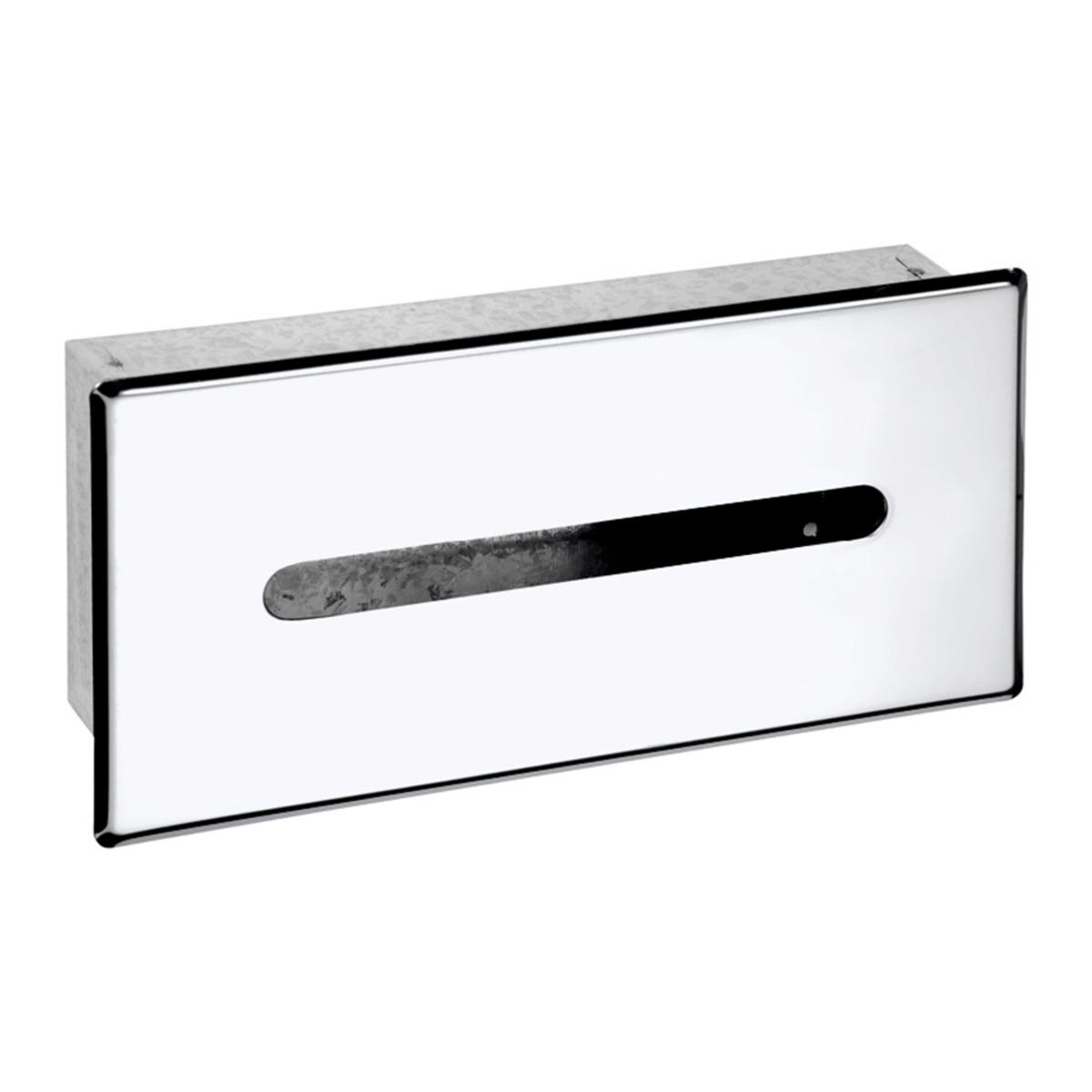 Zásobník na papierové vreckovky Bemeta nerez 113103021