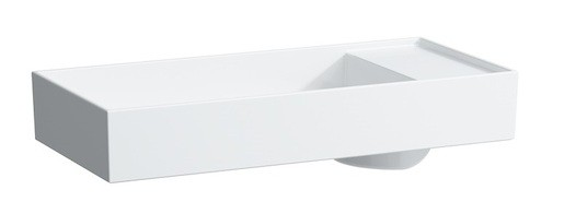 Umývadlo na dosku Laufen Kartell By Laufen 75x35 cm H8123320001121