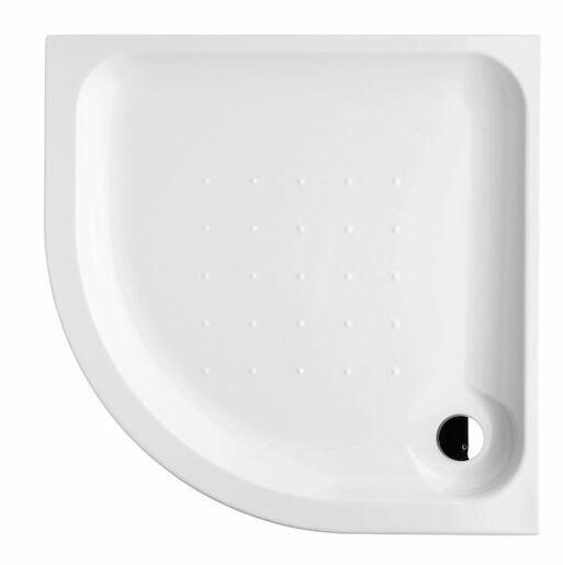Sprchová vanička štvrťkruhová Jika Deep 90x90 cm akrylát H2138220000001