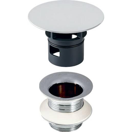 Geberit odpadové ventil s voľným prívodom a krytom ventilu