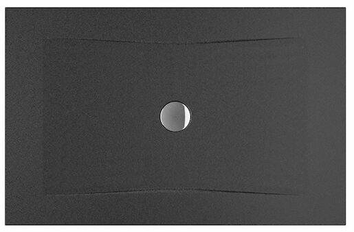 Sprchová vanička obdĺžniková Jika Pure 120x80 cm smaltovaná oceľ čierna H2164200160001