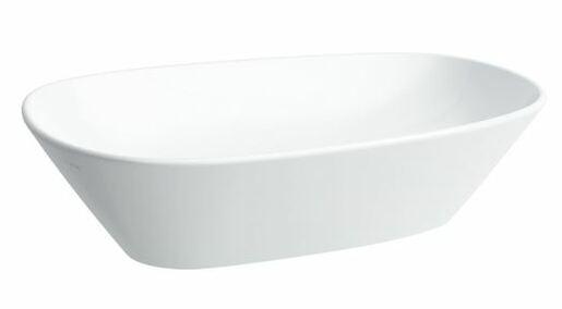 Umývadlo na dosku Laufen Palomba 52x38 cm H8168024001121