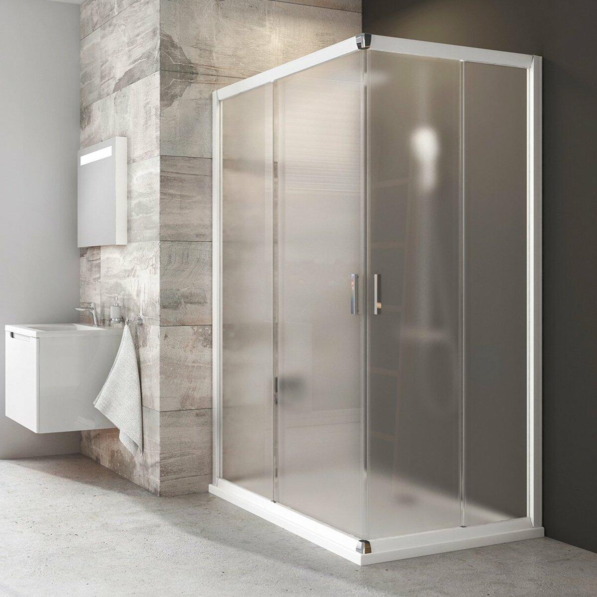 Sprchové dvere 110x190 cm Ravak Blix biela 1XVD0100ZG