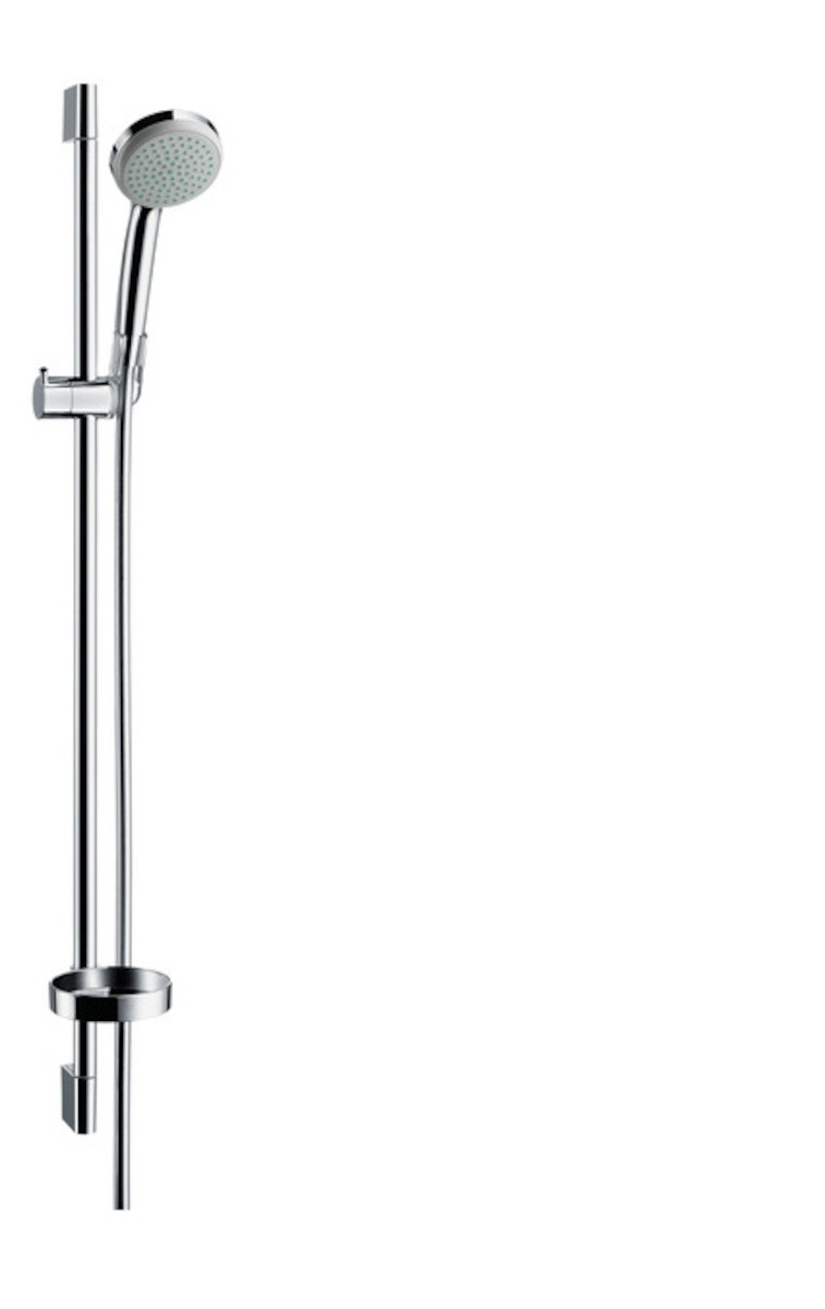 Sprchový set Hansgrohe Croma 100 s mydlovničkou chróm 27724000