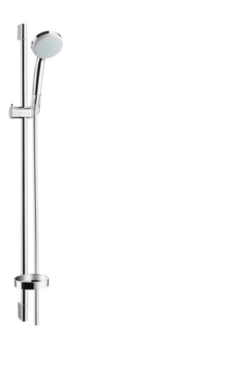 Sprchový set Hansgrohe Croma 100 s mydlovničkou chróm 27771000
