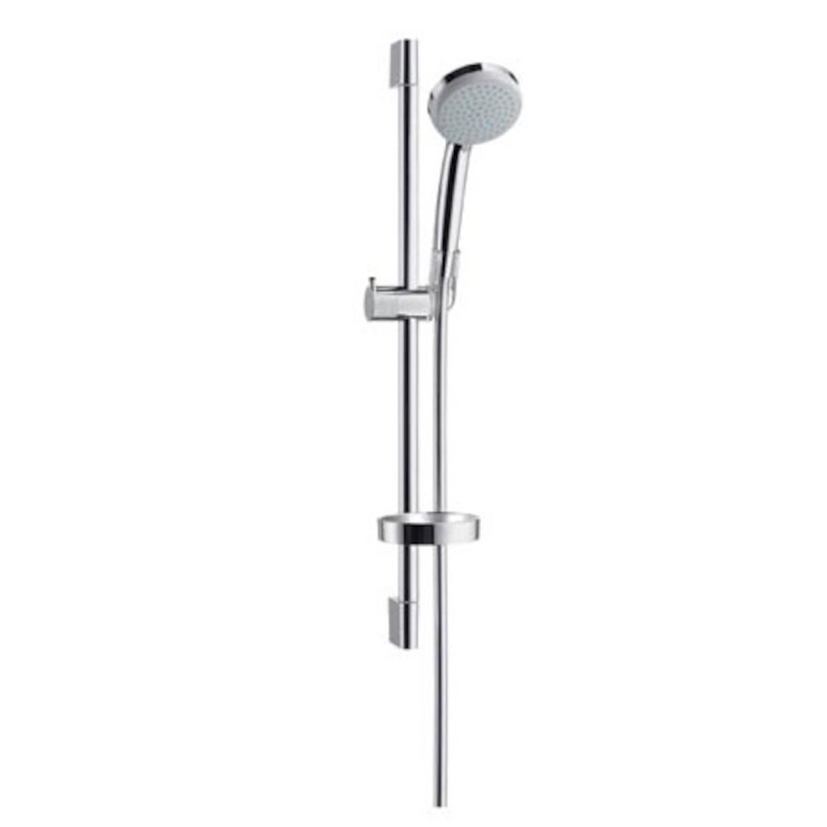 Sprchový set Hansgrohe Croma 100 s mydlovničkou chróm 27772000