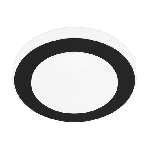 LED stropné svietidlo EGLO Led Carpi IP44 čierná 33682