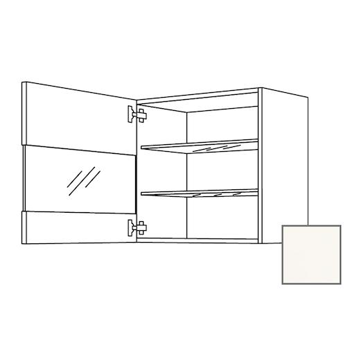 Kuchynská skrinka s dvierkami horná Naturel Erika24 60x65x32 cm biela lesk 450.WGLS6001L