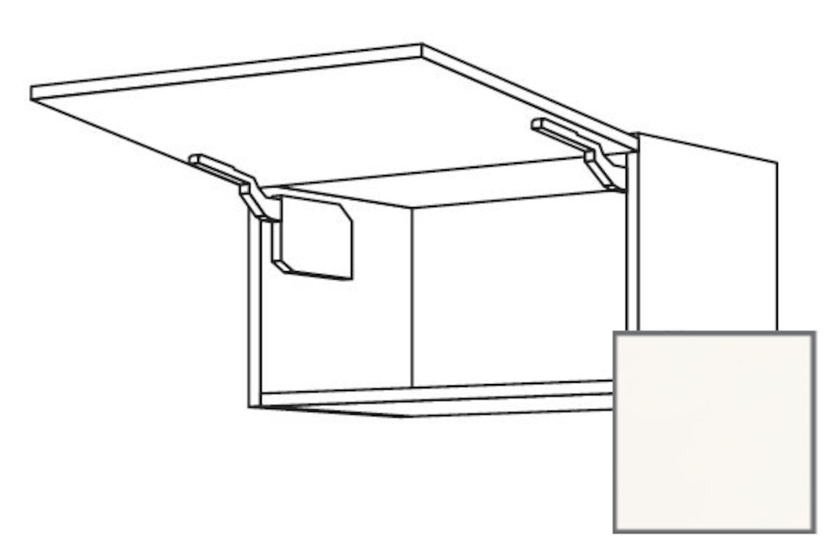 Kuchynská skrinka horní Naturel Erika24 výklopná 45x36x35 cm bílá lesk 450.WK4536N