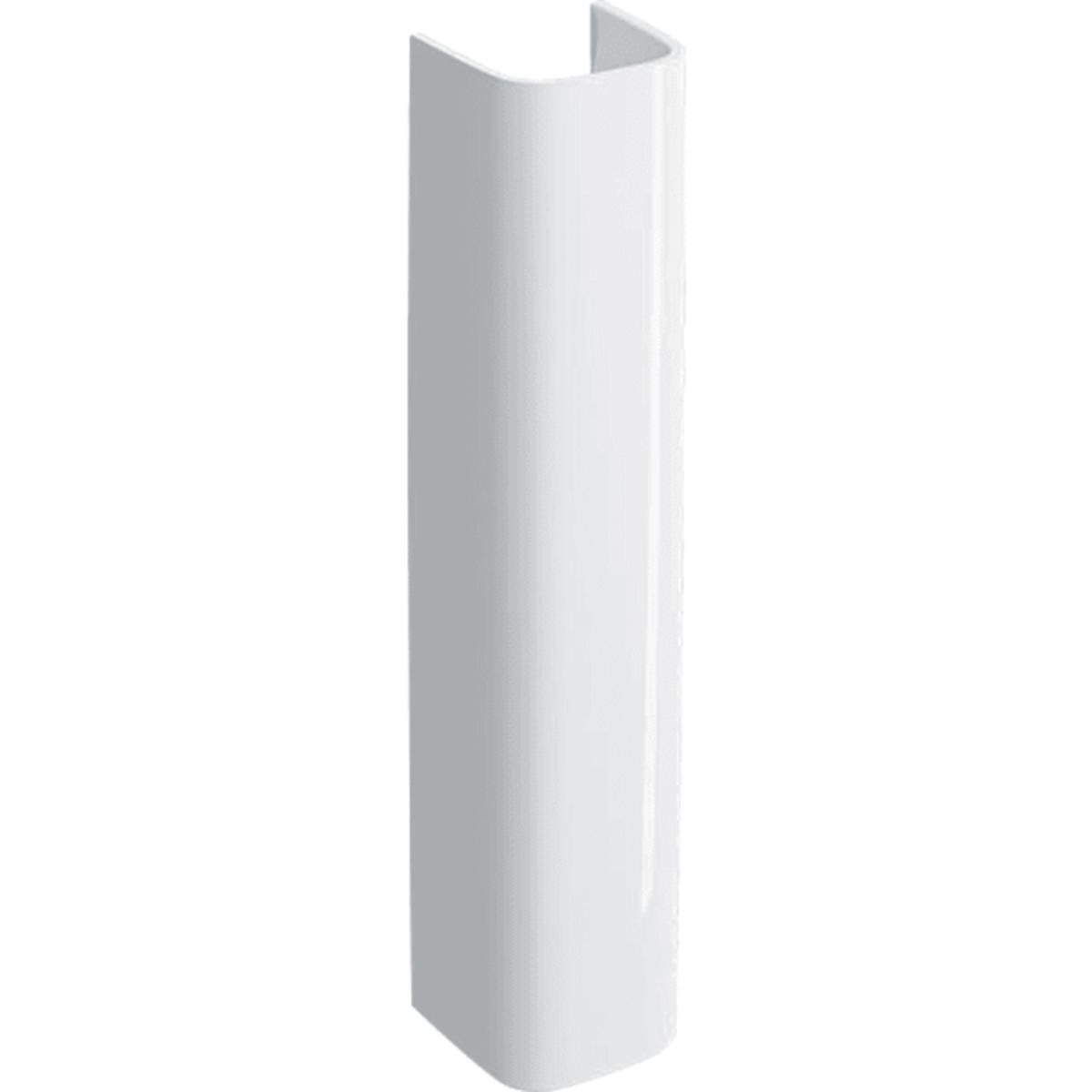 Stĺp k umývadlu Geberit Selnova 16,5x15 cm otvor pre batériu uprostred 500.342.01.1