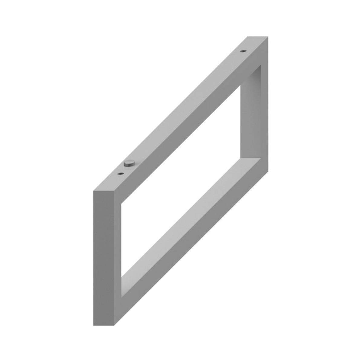 Príslušenstvo konzole Jika Cubito 2x42x14 cm strieborná H4501331720001