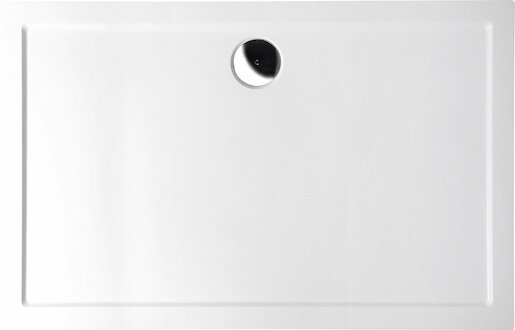 Sprchová vanička obdĺžniková Polysan Karia 100x90 cm liaty mramor 51111
