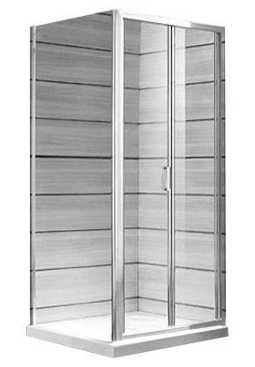 Sprchové dvere Jika Lyra plus biela H2553810006681