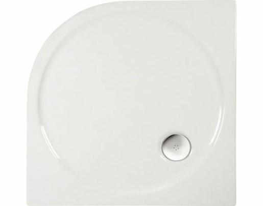 Sprchová vanička štvrťkruhová Polysan Sonata 90x90 cm akrylát 57111