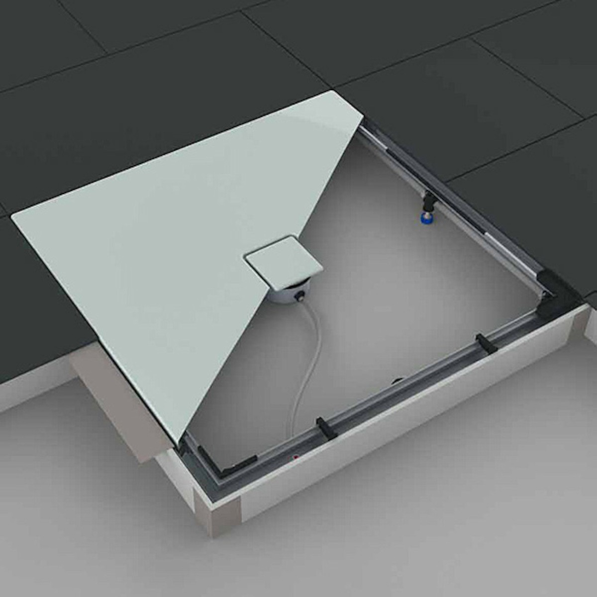Montážny systém Kaldewei ESR II pre sprchové vaničky 750 x 1000 mm 584574060000