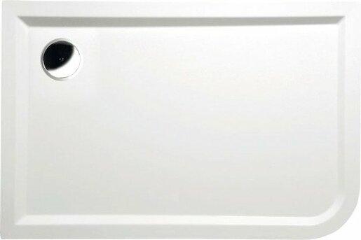 Sprchová vanička obdĺžniková Polysan Styx 120x80 cm liaty mramor 66611