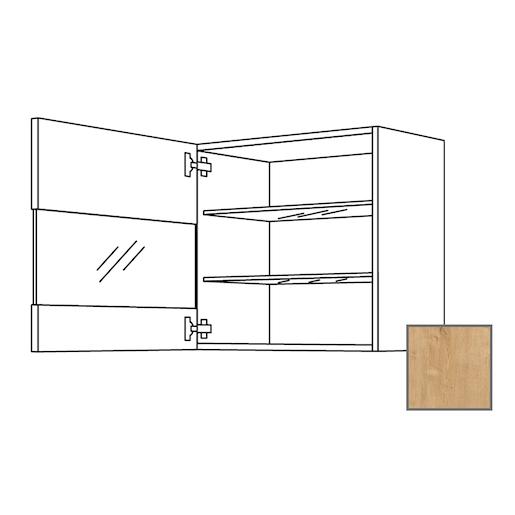 Kuchynská skrinka s dvierkami horná Naturel Lusi24 45x65x32 cm dub 698.WGLS4501R