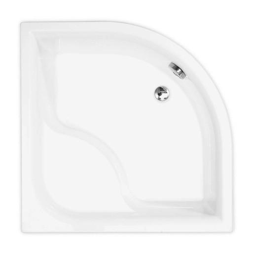 Sprchová vanička štvrťkruhová Roth Viki Lux 90x90 cm akrylát 8000046