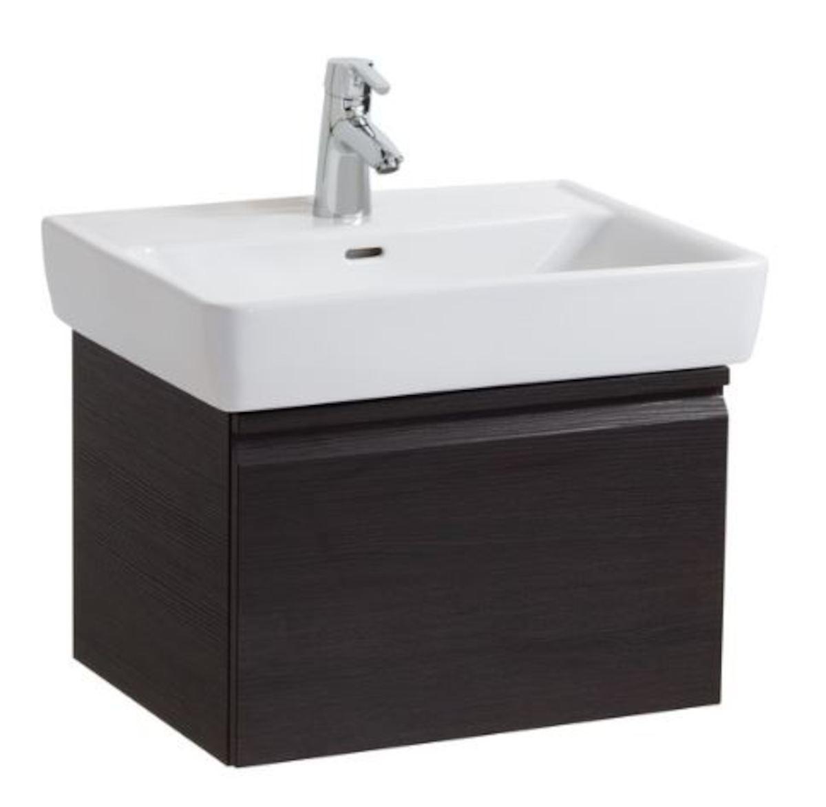 Kúpeľňová skrinka pod umývadlo Laufen Laufen Pro 57x45x39 cm wenge H4830420954231