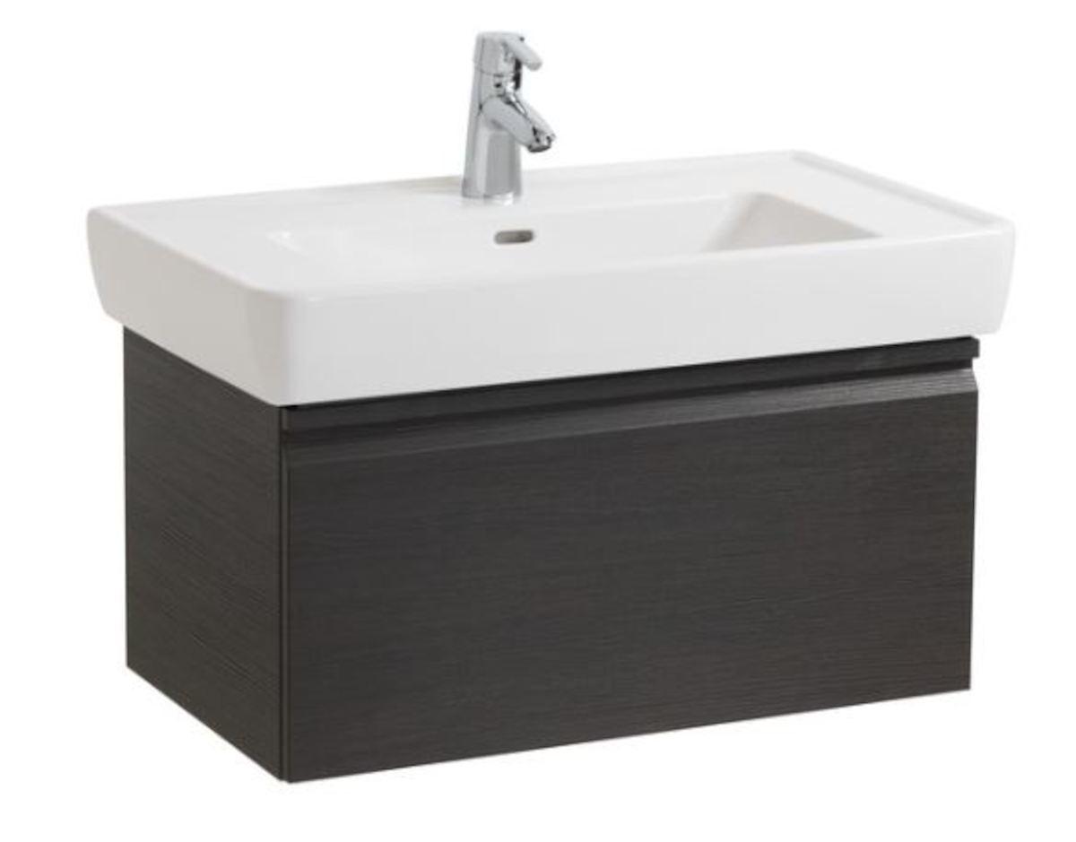 Kúpeľňová skrinka pod umývadlo Laufen Laufen Pro 77x45x39 cm wenge H4830610954231