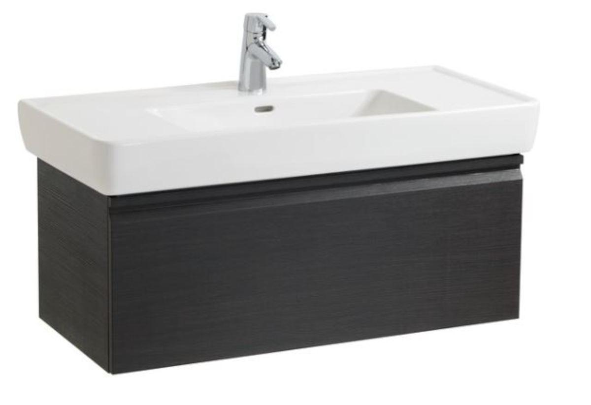 Kúpeľňová skrinka pod umývadlo Laufen Laufen Pro 97x45x39 cm wenge H4830720954231