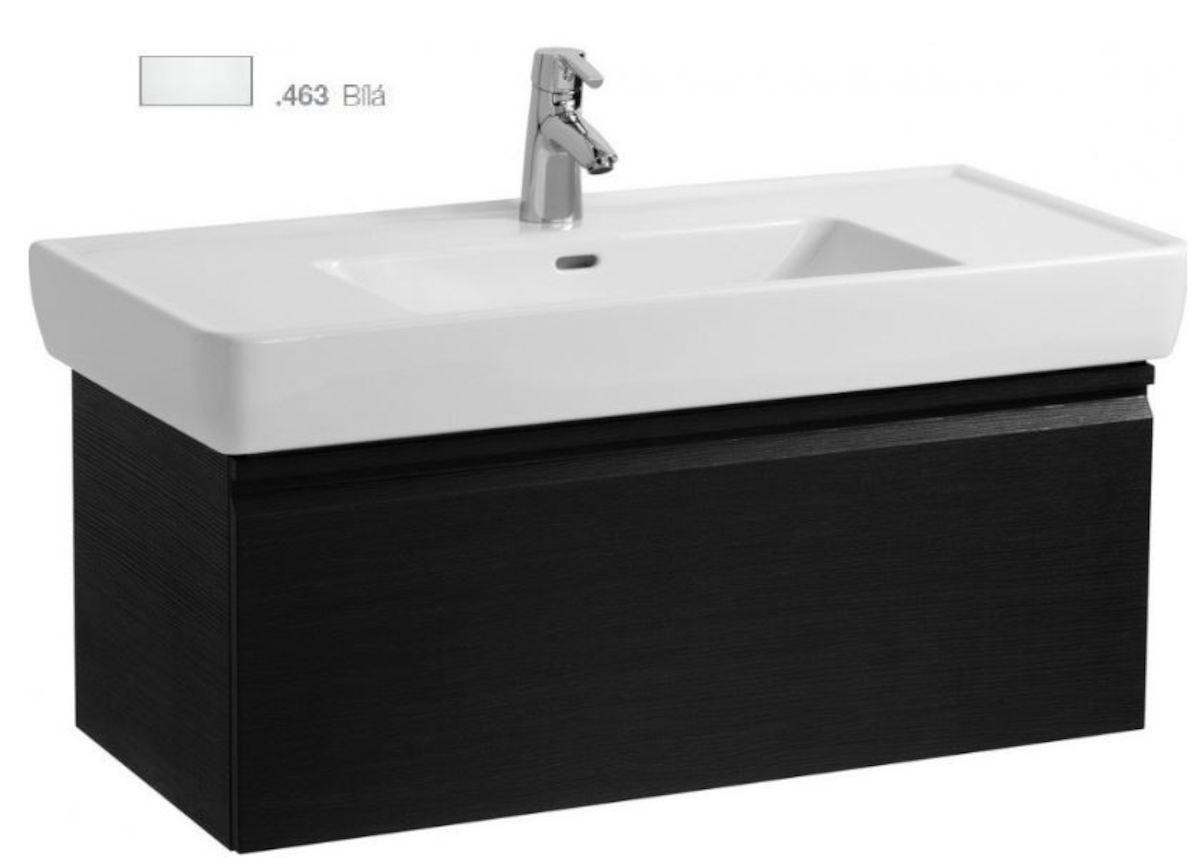 Kúpeľňová skrinka pod umývadlo Laufen Laufen Pro 97x45x39 cm biela H4830720954631