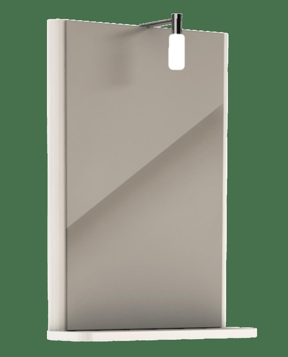 Zrkadlo s osvětlením Kolo Rekord 44 cm biela 88418000