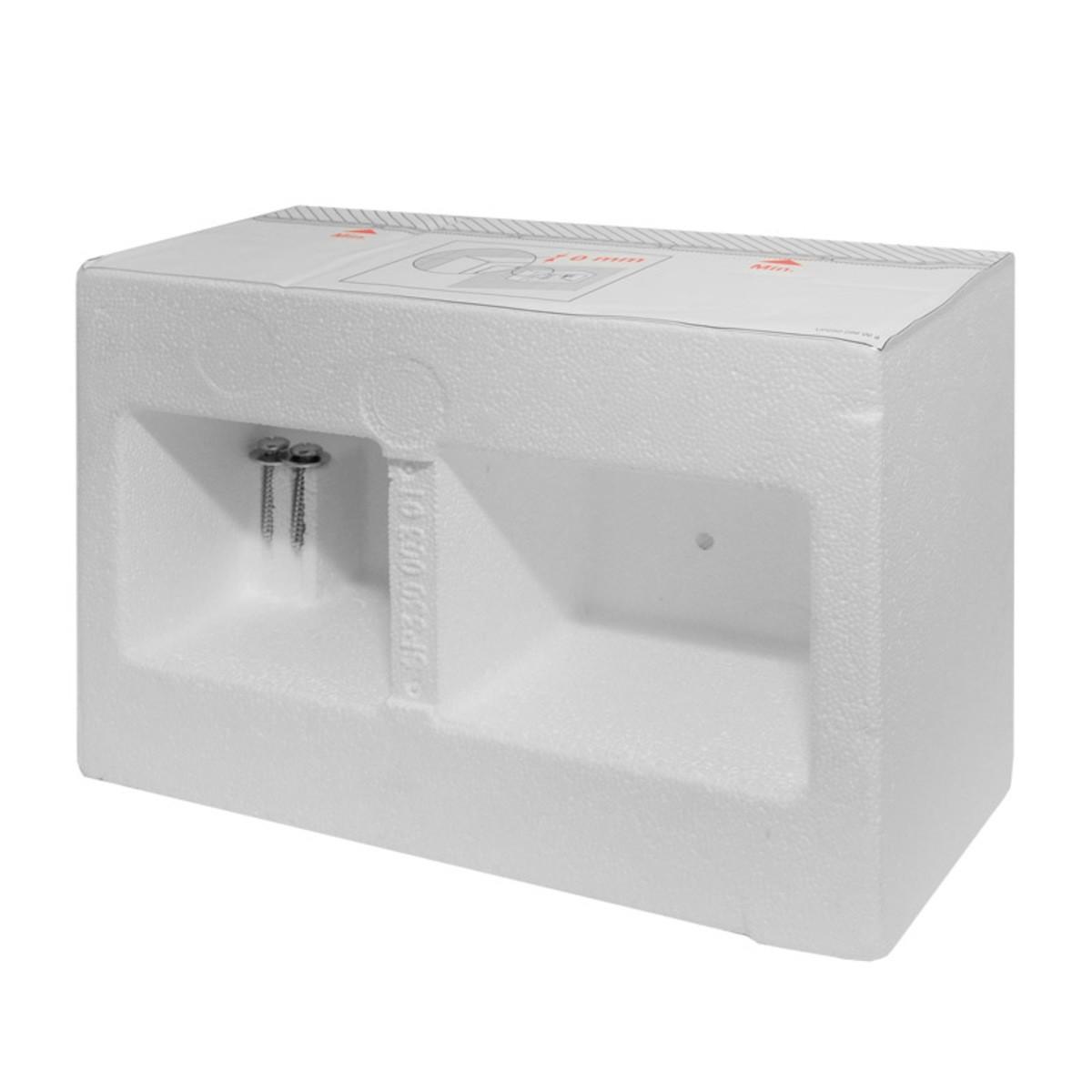 Stavební kryt pro zazdění k WC Tece Box 9.030.029