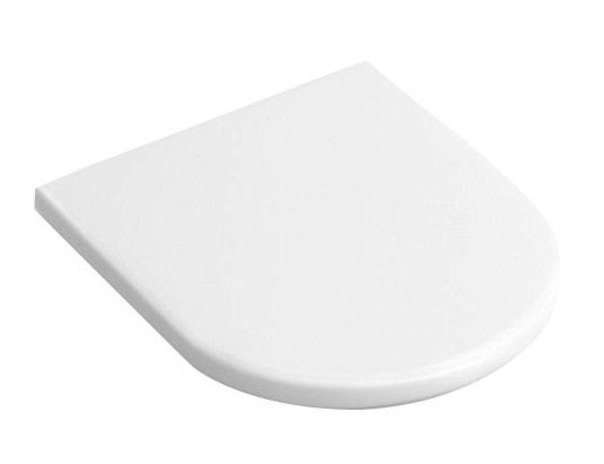 WC doska Villeroy & Boch Architectura Vita duroplast biela 98M9C101