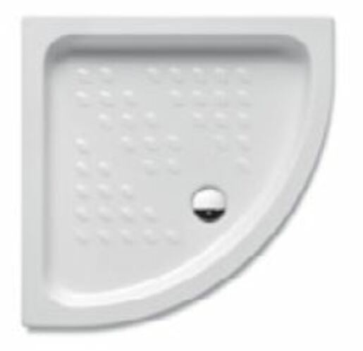 Sprchová vanička štvrťkruhová Jika Italia 90x90 cm keramika A374774000