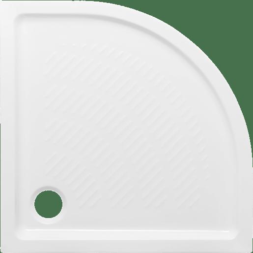 Sprchová vanička štvrťkruhová Multi Abs 90x90 cm akrylát ABSNEW90S