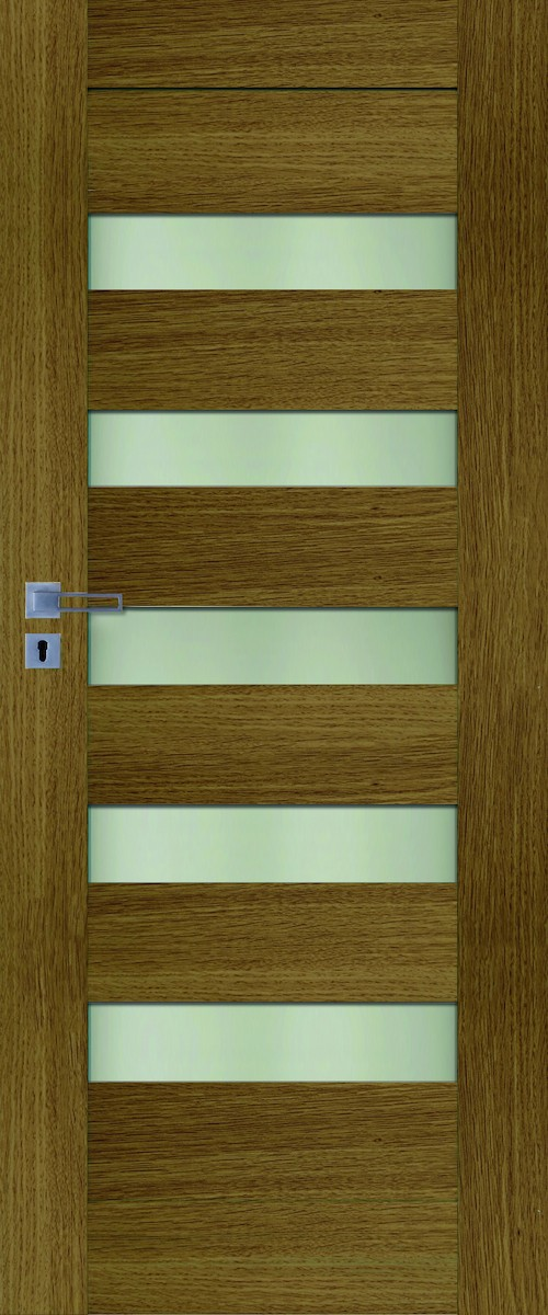 Interiérové dvere Naturel Accra ľavé 60 cm dub ACCRADP60L