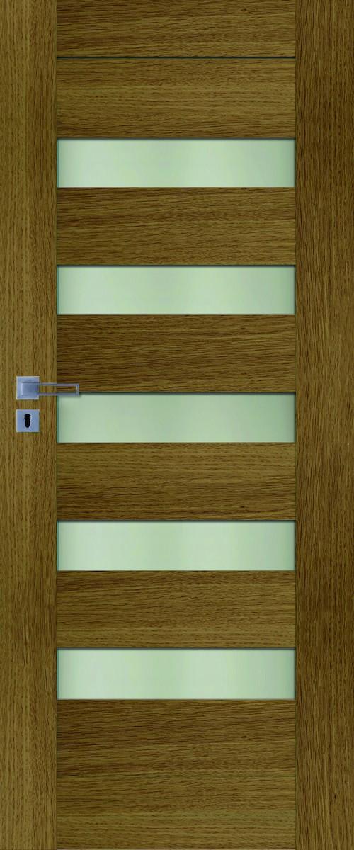 Interiérové dvere Naturel Accra pravé 60 cm dub ACCRADP60P