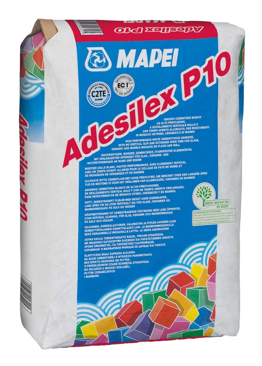 Lepidlo Mapei Adesilex P10 biela 25 kg C2TE ADESILEXP10
