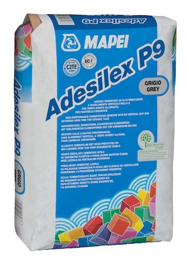 Lepidlo Mapei Adesilex P9 šedá 25 kg C2TE ADESILEXP9