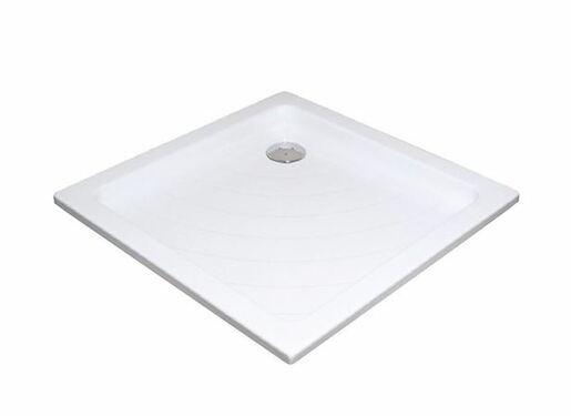 Sprchová vanička štvorcová Ravak Angela 80x80 cm akrylát A014401220