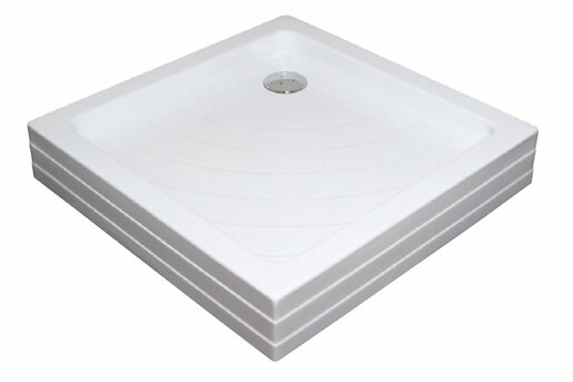 Sprchová vanička štvorcová Ravak Angela 80x80 cm akrylát A004401120