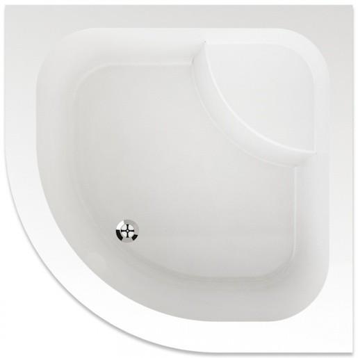 Sprchová vanička štvrťkruhová Teiko Argo 90x90 cm akrylát V131090N32T08001